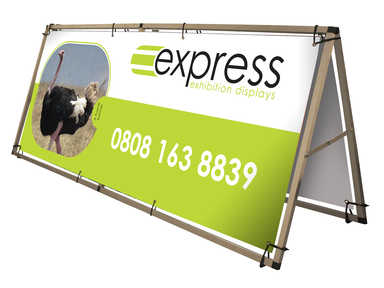 Large A Frame Outdoor Banner Eed
