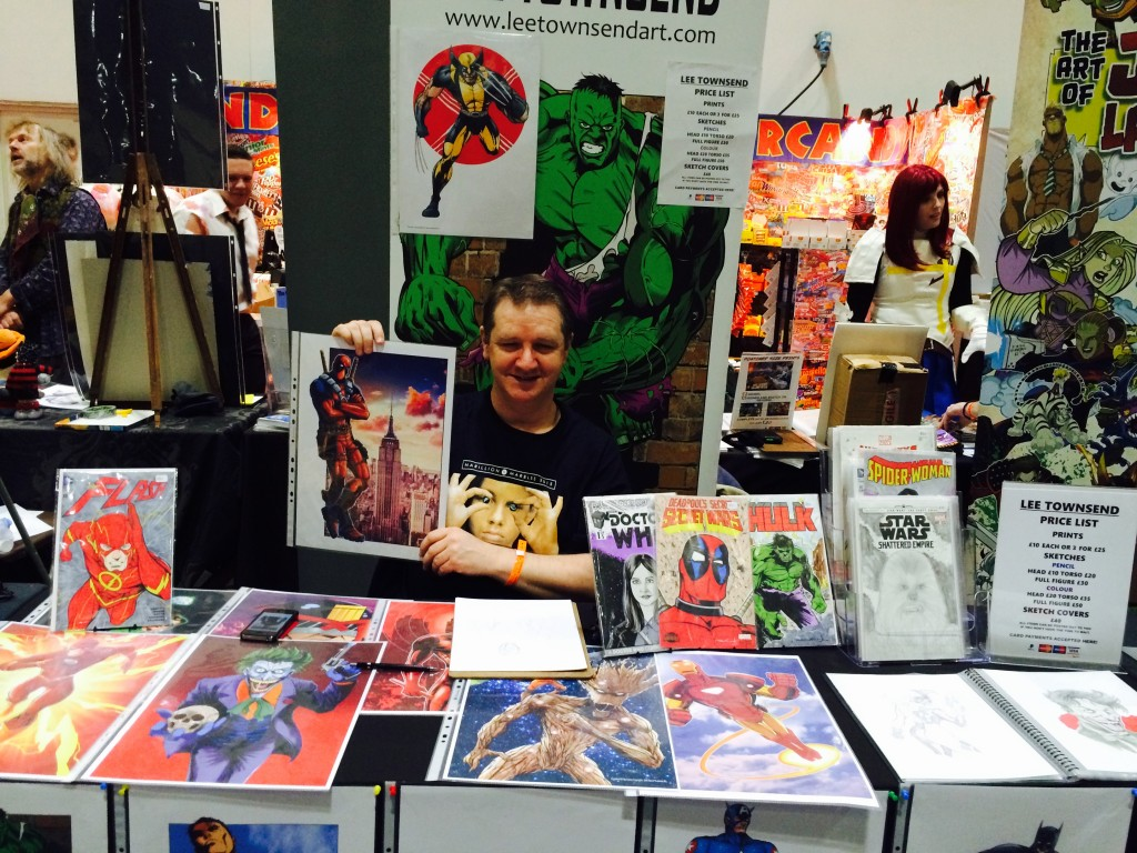 Comic Con Village 2015- illustrator