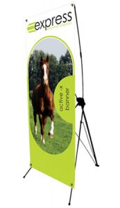 Active X Tension Banner Stand