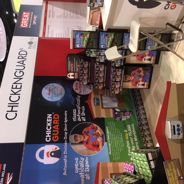ChickenGuard at Global Pet Expo 2017