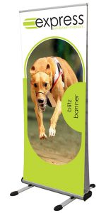 Double Sided Blitz Outdoor Roller Banner Stand