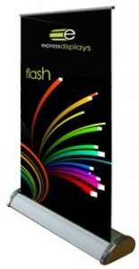 Flash A3 table top Roller Banner Stand