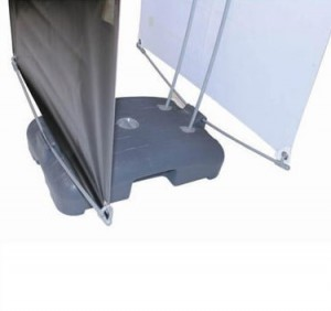 Fleet double-sided outdoor banner stand Base