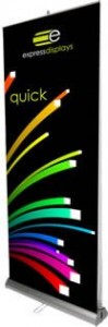 Quick Roller Banner Stand