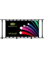 Whoosh custom outdoor banner 150x75