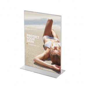 Portrait menu holder