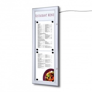 A4 Menu Box Stacked
