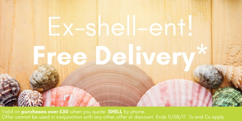 Free delivery when you spend over £50