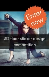 Floor sticker design competition to win £500