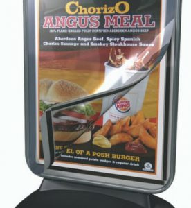 Freestanding Magnetic Pavement Sign Assembly