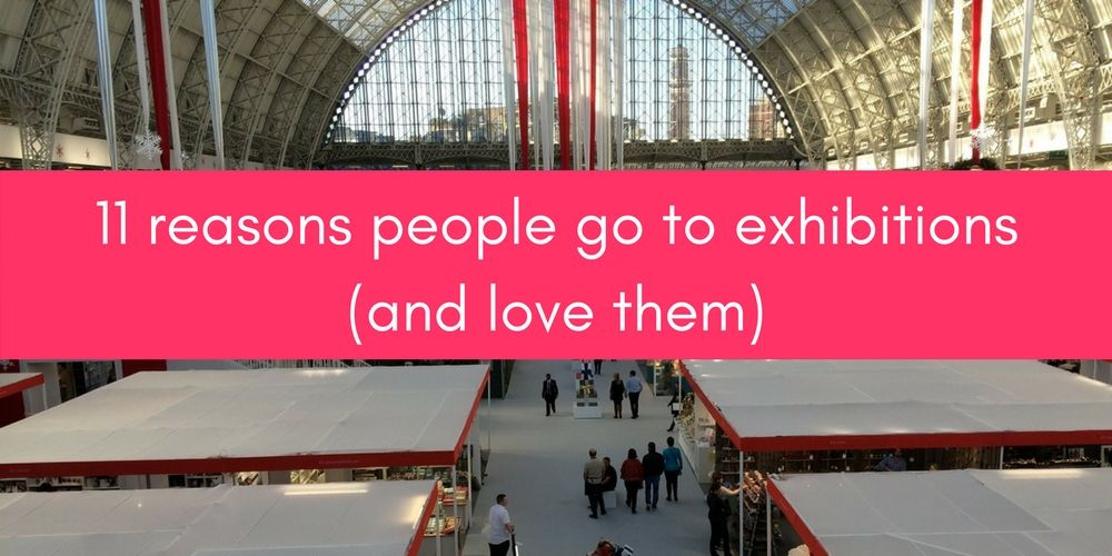 11 Reasons People Go To Exhibitions And Love Them
