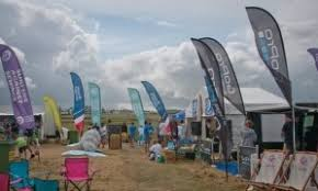 Newquay surfing event flags