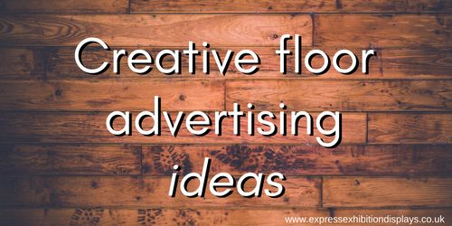 Creative Floor Advertising Ideas