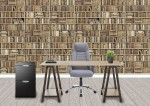 Wall paper custom printed for office rooms