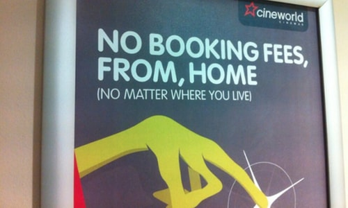 Cineworld Cinema Poster