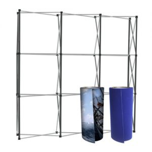 Replacement graphic panels for pop up stands