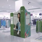 Modulate retail display