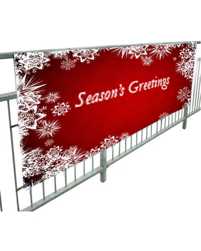 Christmas Banners.Whoosh 2x1 Christmas Event Outdoor Banner